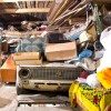 Garage with stuff
