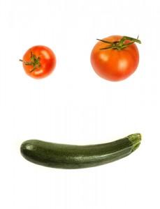 Veggie smile