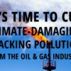 Stop fracking pollution